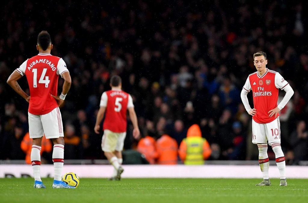 Arsenal-vs-Wolves-Mesut-Ozil