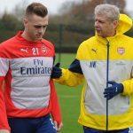Arsenal-training-chambers-wenger