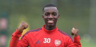 Nketiah_Arsenal-Training-Session