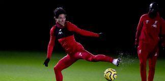 takumi-minamino-liverpool-training-session-6