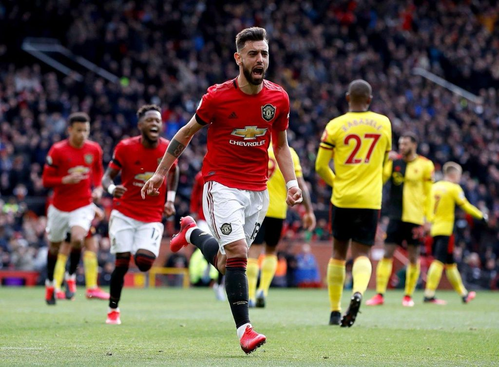 Bruno_Fernandes_Manchester_United_Watfrod_Celebration