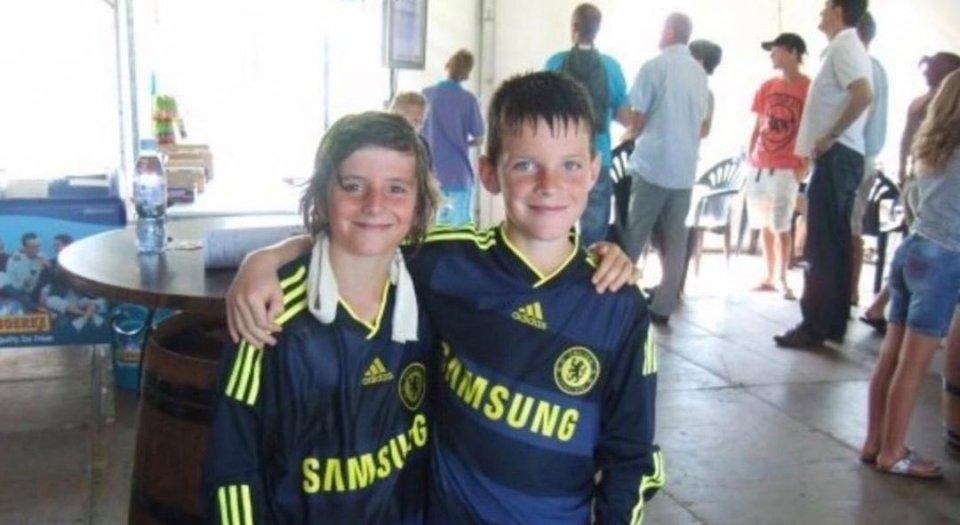 Declan-Rice-Mason-Mount-childhood