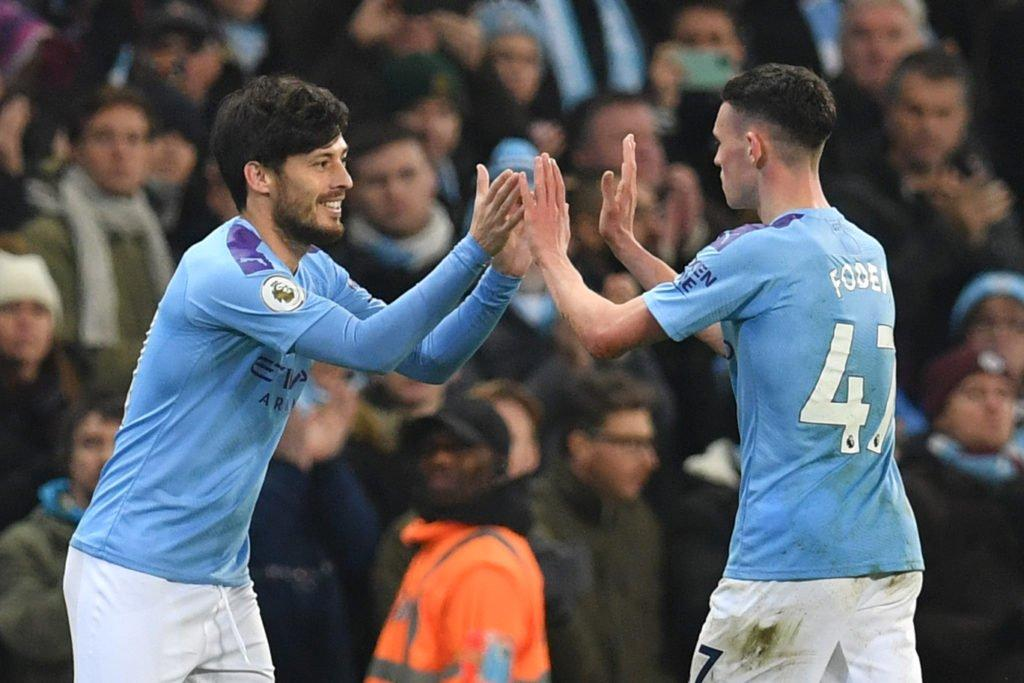 david-silva-phil-foden-manchester-city
