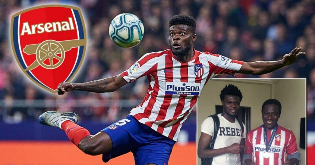 Thomas Partey S Father Confirms Arsenal Transfer Interest