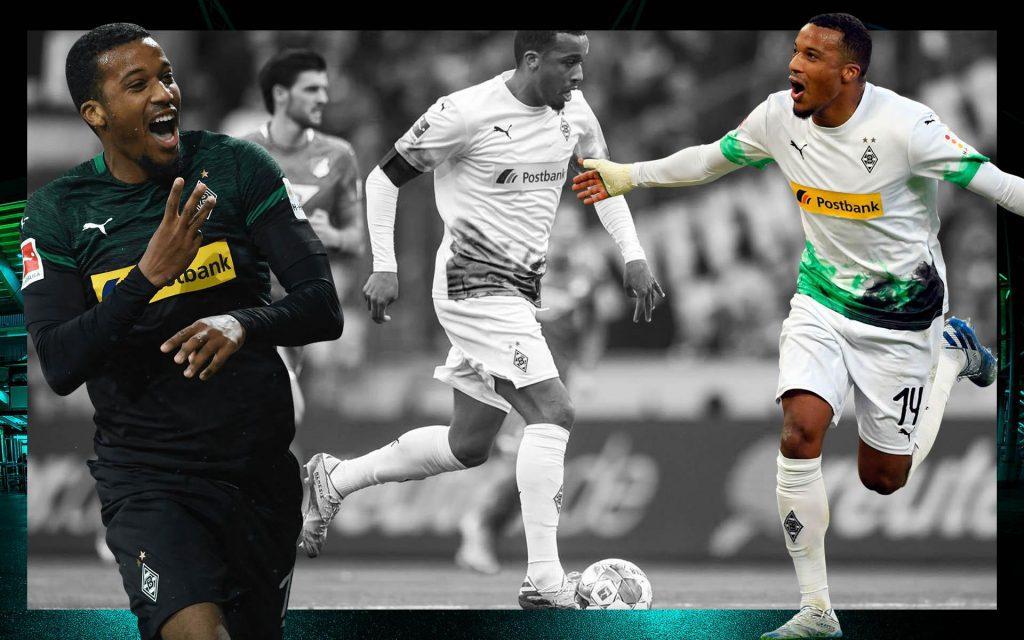 Alassane-Plea-Borussia-Mönchengladbach-Wallpaper