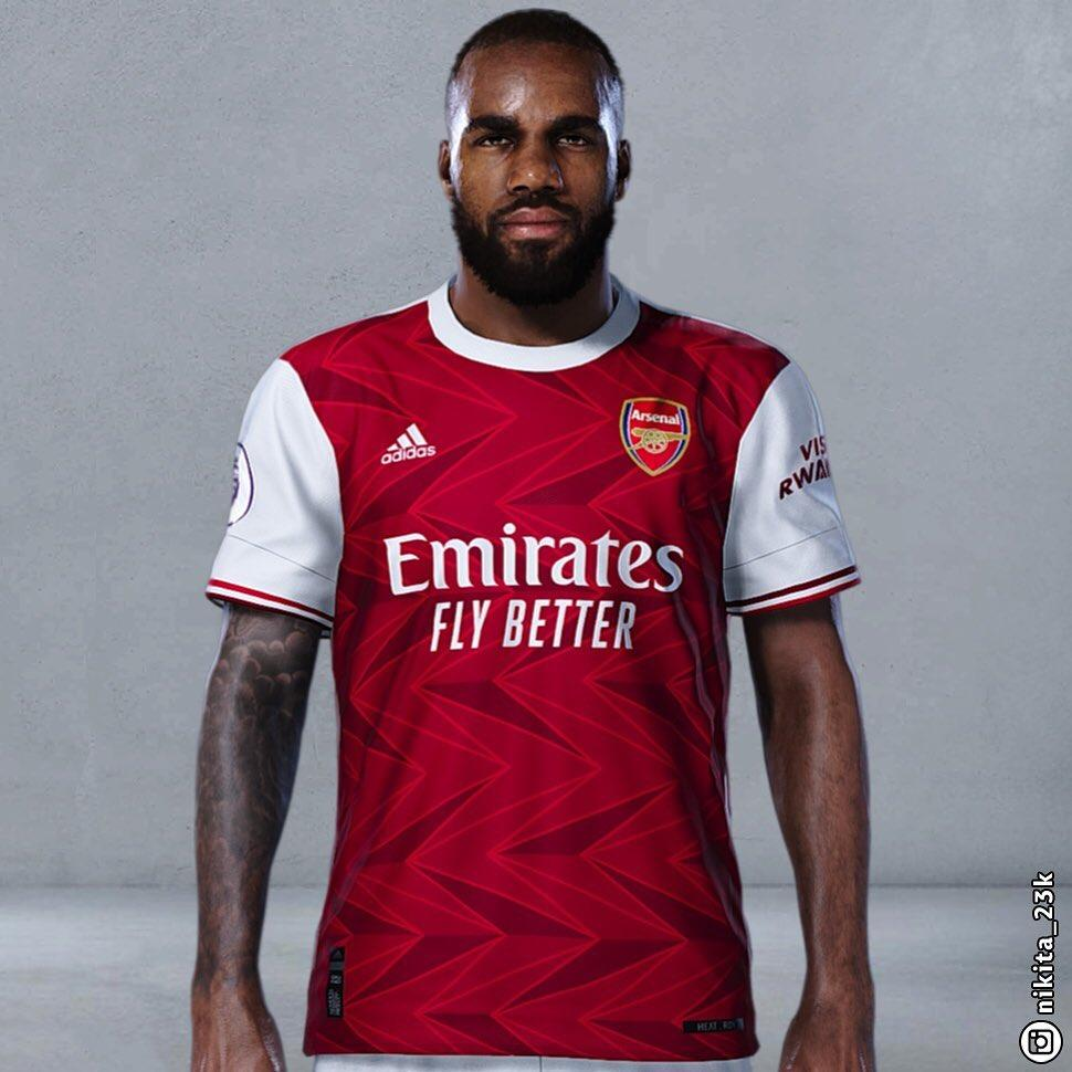 Arsenal 2020 21 Home Kit Leaked Premier League News Now
