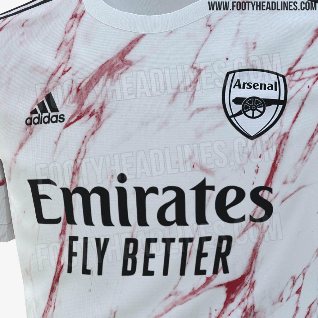 Arsenal 2020 21 Away Kit Leaked Premier League News Now