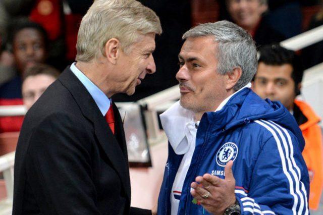 Mourinho-y-Wenger