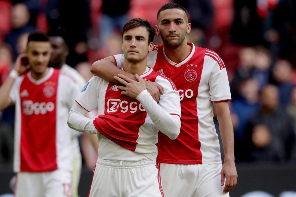 Nicolas-Tagliafico-Ziyech-Ajax-Chelsea