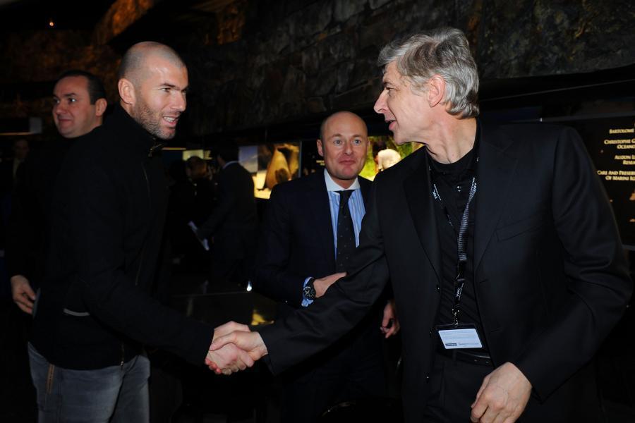 Zidane_Wenger