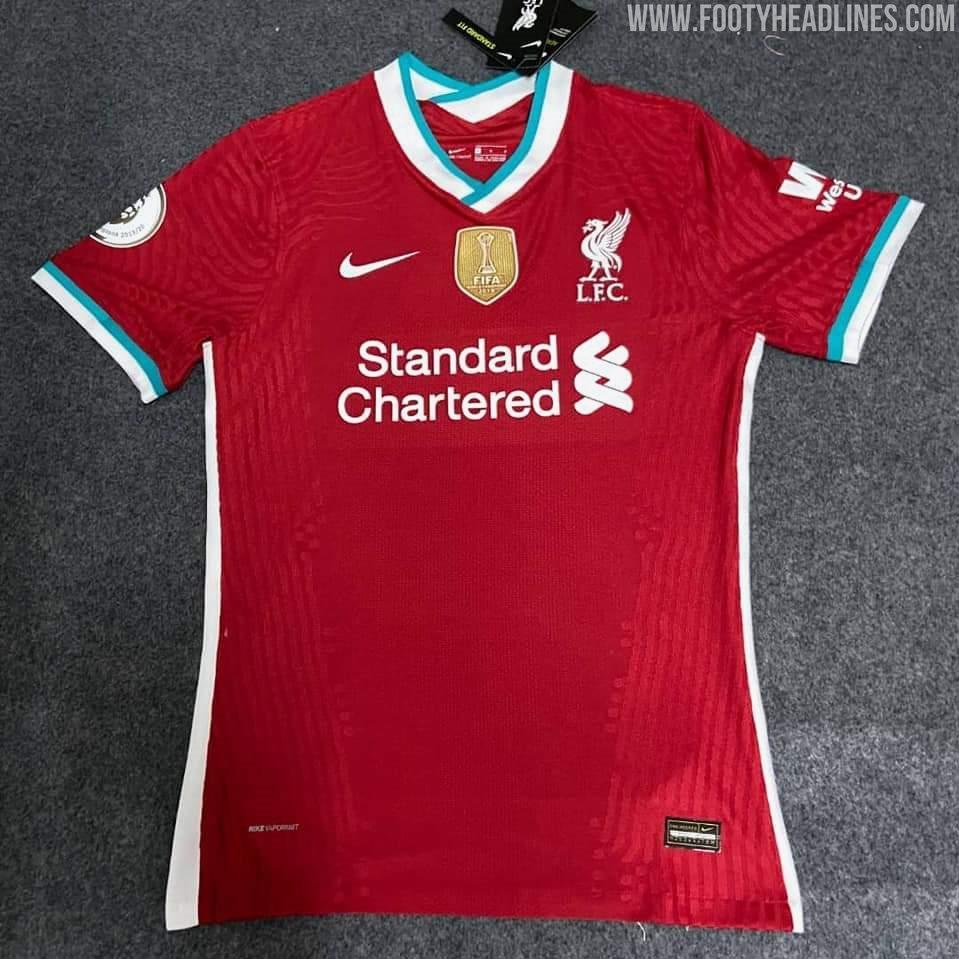Liverpool 2020 21 Home Kit Leaked Premier League News Now