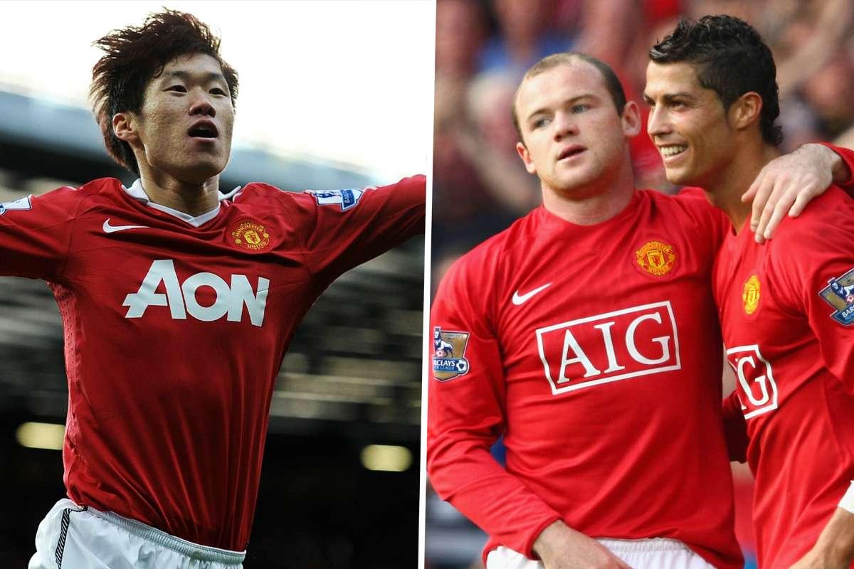 park-ji-sung-wayne-rooney-ronaldo-manchester-united