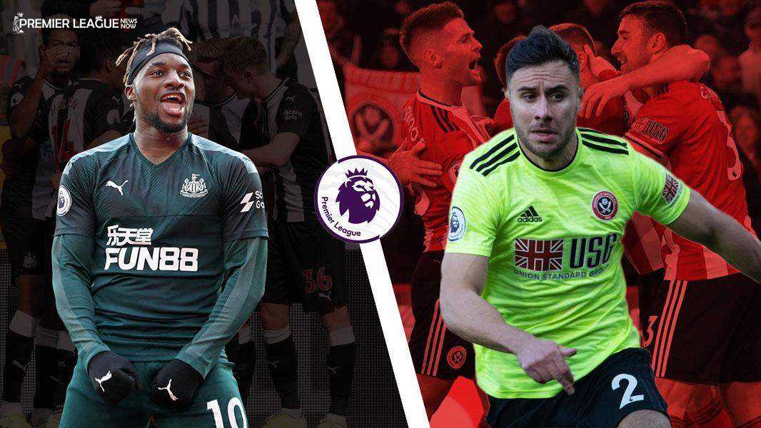 Allan-Saint-Maximin-vs-George-Baldock-Newcastle-vs-Sheffield-United