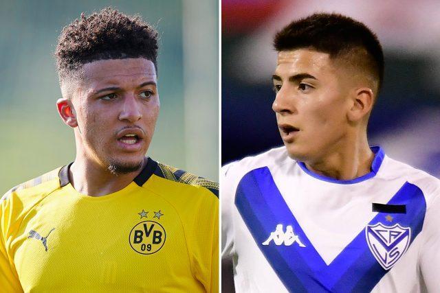 Jadon-Sancho-Thiago-Almada-Manchester-United