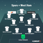 spurs-westham-combined-lineup