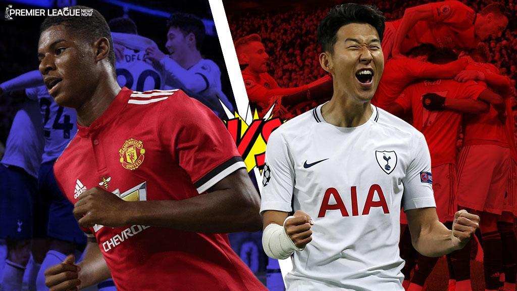 Marcus-Rashford-Heung-Min-Son-Tottenham-Spurs-Manchester-United