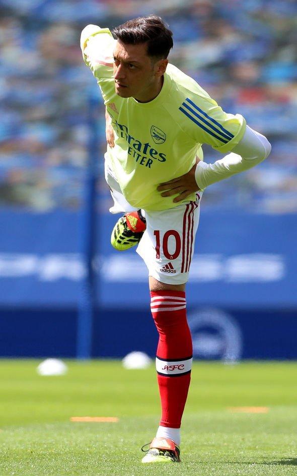 Arteta_Arsenal_Training