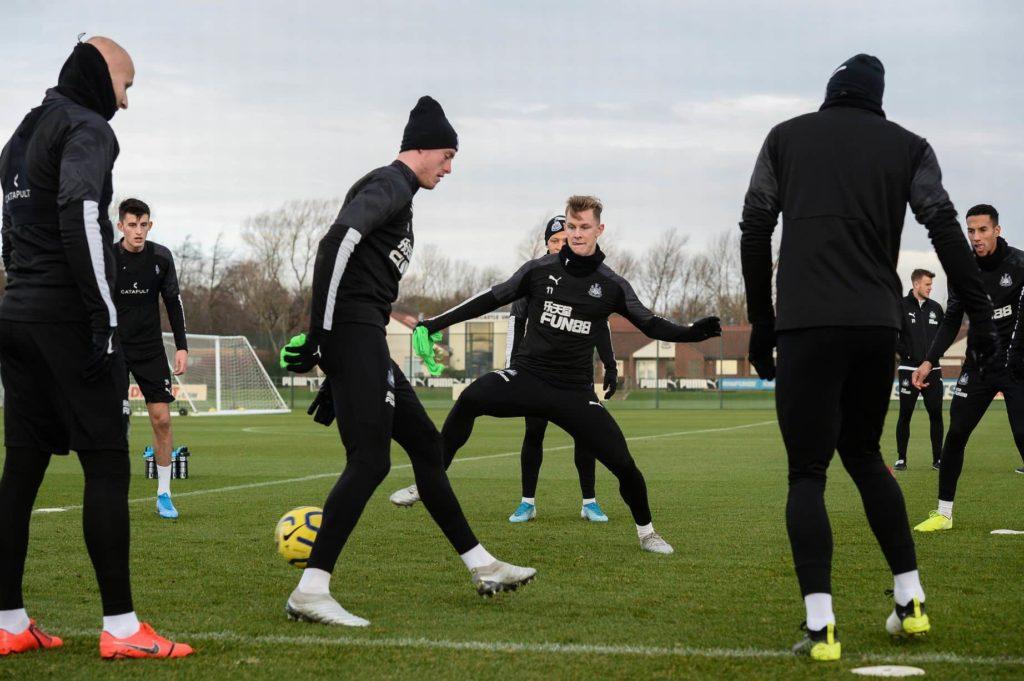 Newcastle-United-Training