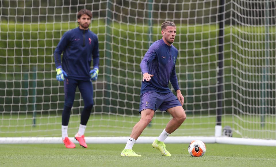 Toby-Alderweireld-Tottenham-training