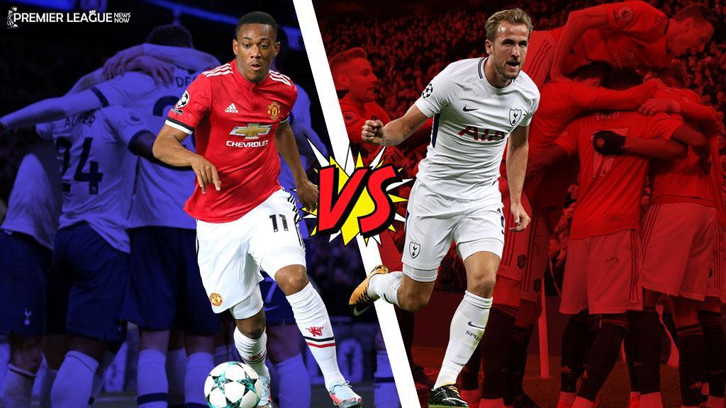 anthony-martial-Harry-Kane-Tottenham-Manchester-United-Premier-League-2019-20