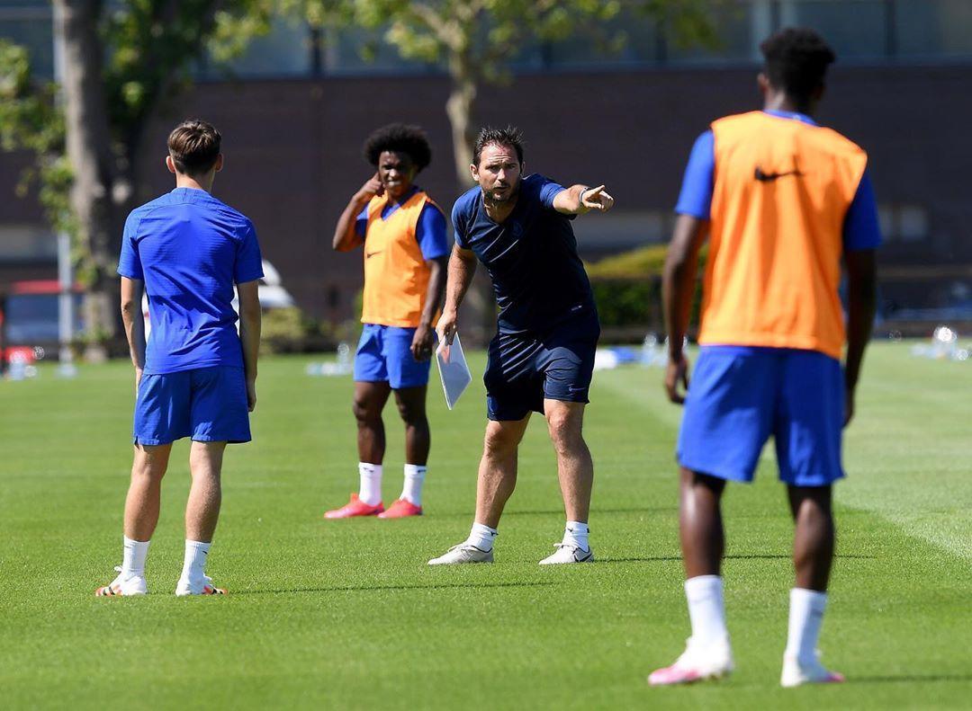 franklampard-chelsea-training-premier-league-resumption