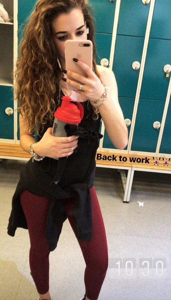 Diogo-Jota-girlfriend-Rute-Cardoso-mirror-selfie