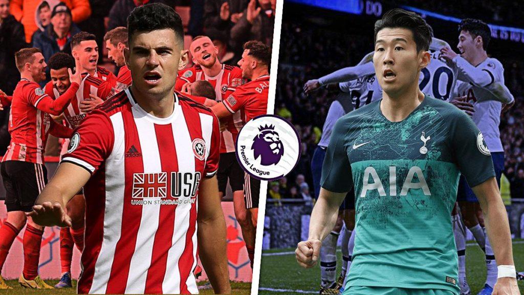John-Egan-vs-Son-Heung-min-Sheffield-United-vs-Tottenham-Spurs-Premier-League-2019-20