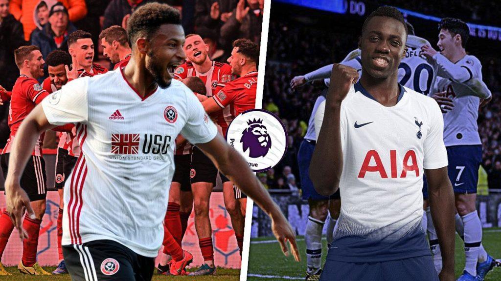 Lys-Mousset-vs-Davison-Sanchez-Sheffield-United-vs-Tottenham-Spurs-Premier-League-2019-20