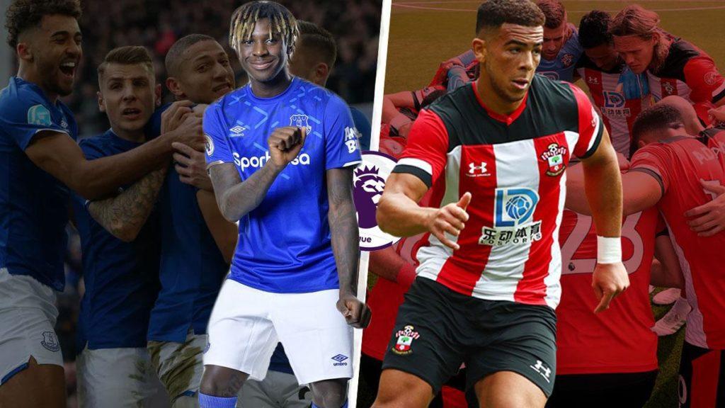 Moise-Kean-vs-Che-Adams-everton-vs-southampton-Premier-League-2019-20.