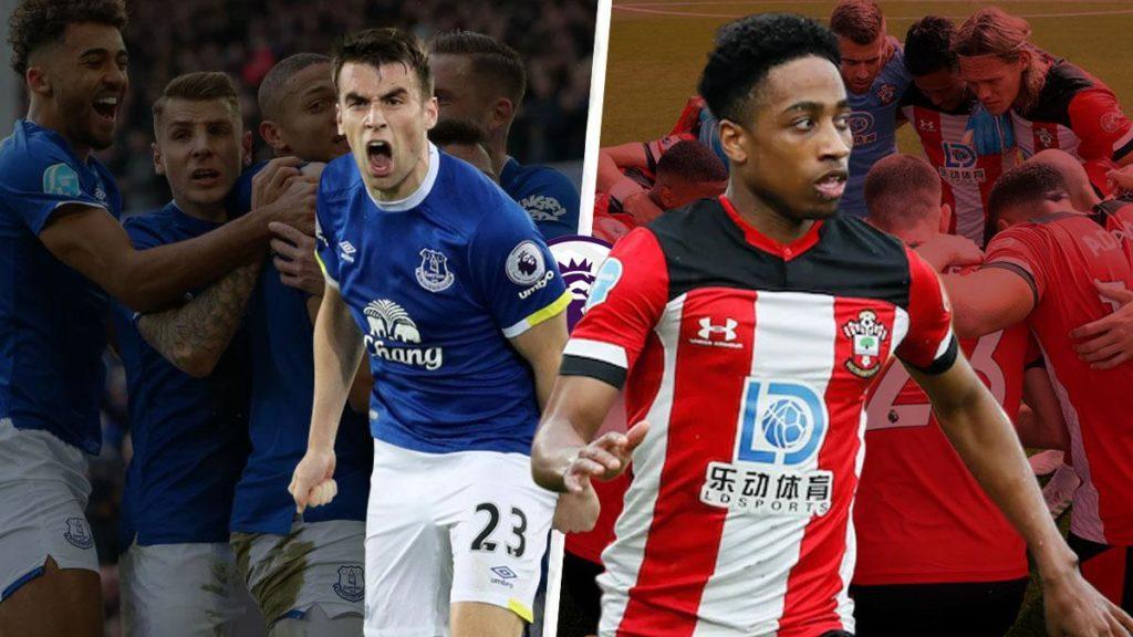 Séamus-Coleman-vs-Kyle-Walker-Peters-everton-vs-southampton-Premier-League-2019-20