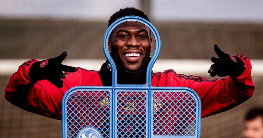 Timothy-Fosu-Mensah-manchester-united-training