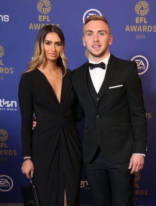 Jarrod-Bowen-with-Girlfriend-Jaz-for-PFA