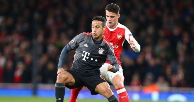 Thiago-Alcantara-Granit-Xhaka-Bayern-Arsenal