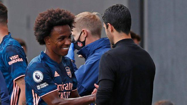 Willian-Arteta