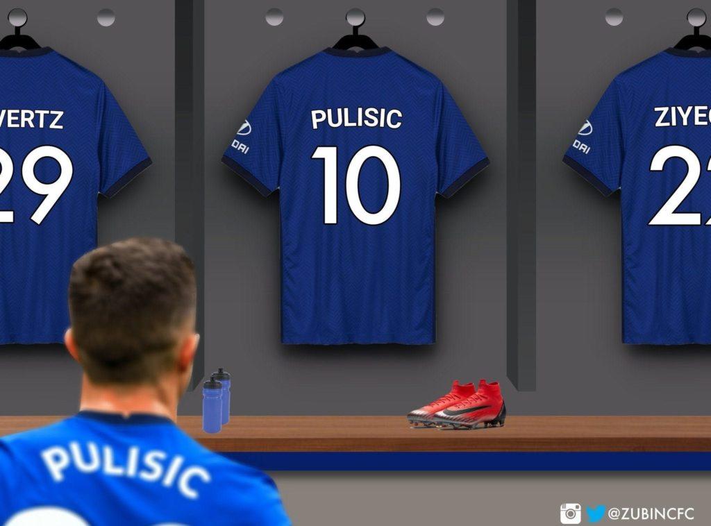 Brighton vs Chelsea: Lampard reveals why he gave Pulisic number 10 shirt || PEAKVIBEZ