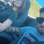 Alex-Telles-wife-Priscila-Minuzzo-long-drive