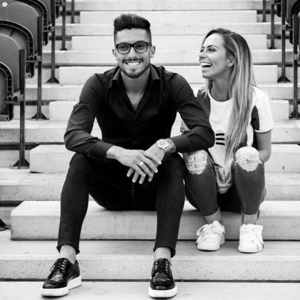 Alex-Telles-wife-Priscila-Minuzzo-together