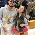 Alex-Telles-wife-Priscila-Minuzzo-trophy