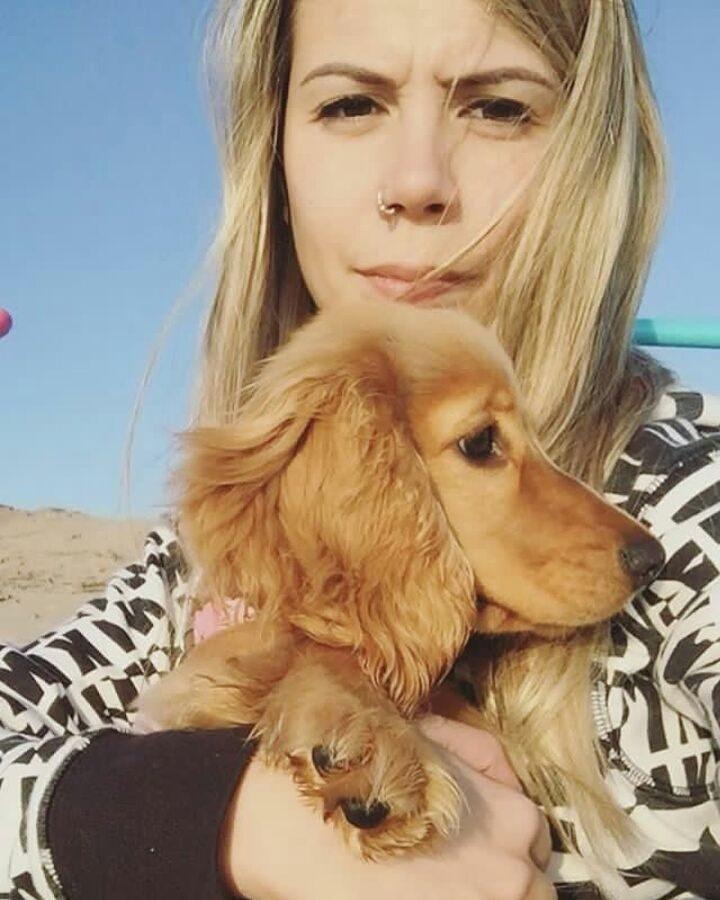 Alex-Telles-wife-Priscila-Minuzzo-Dog