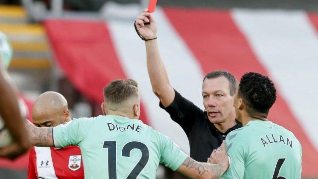 lucas-digne-everton-red-card