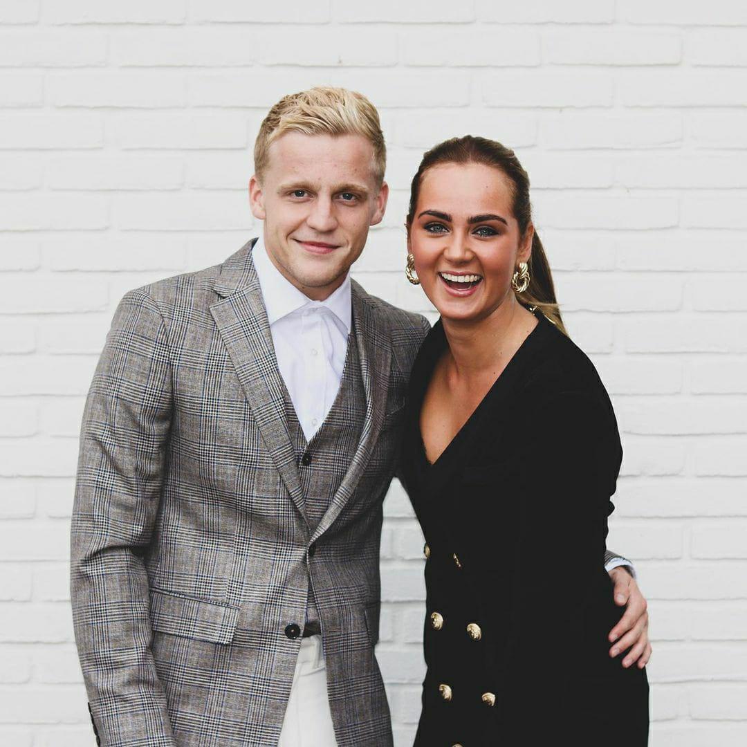 Estelle Bergkamp Donny van de Beek
