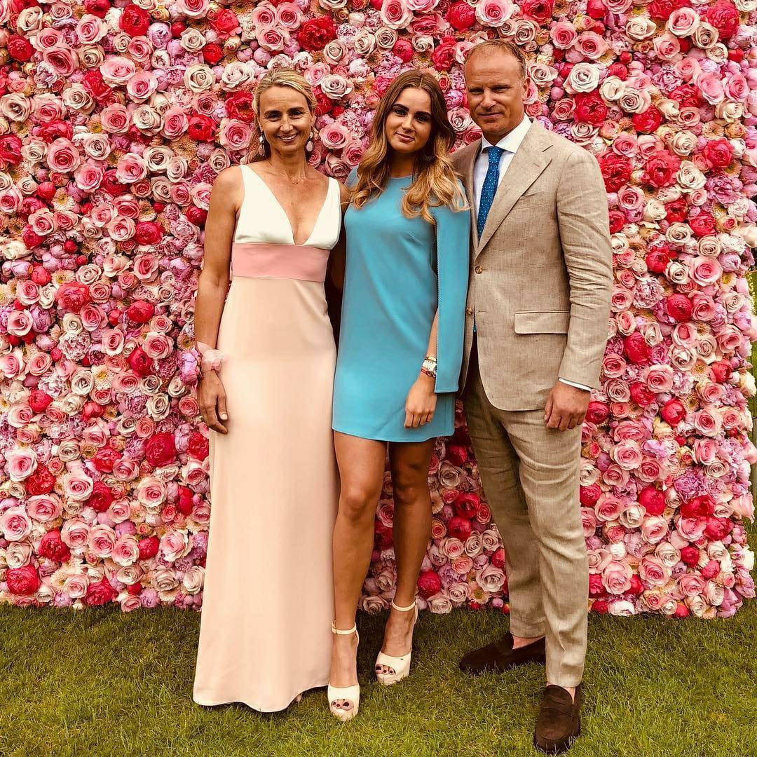 Estelle Bergkamp Family Parents
