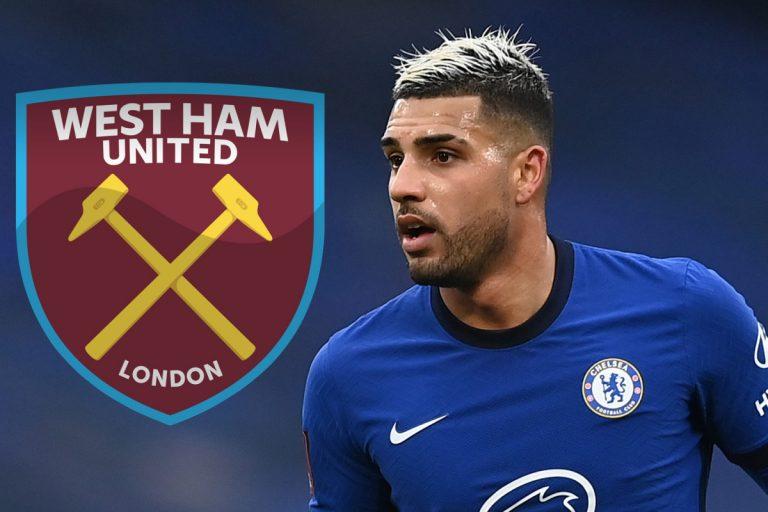 West Ham's Emerson loan bid rejected