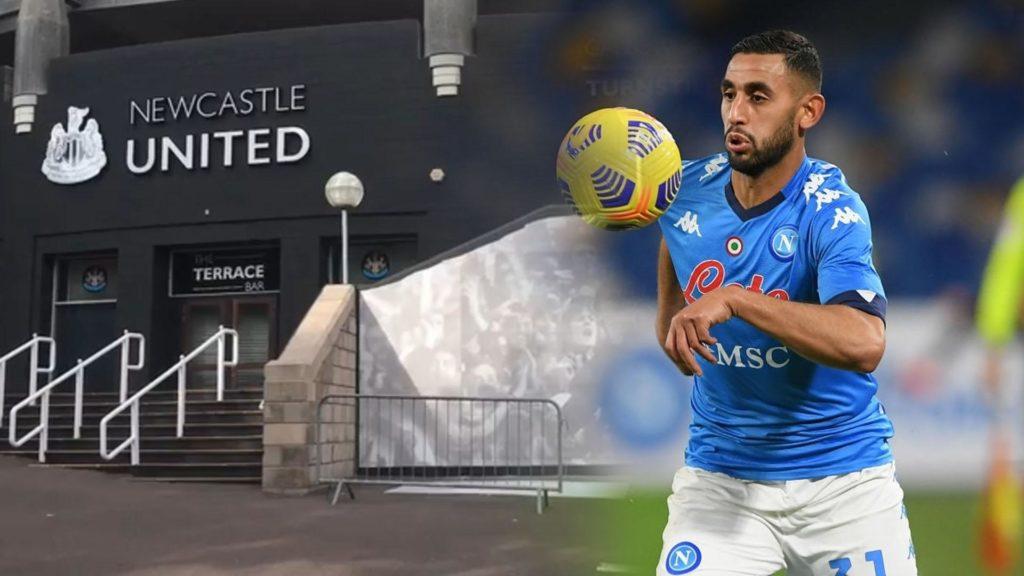 Faouzi-Ghoulam-Newcastle-United