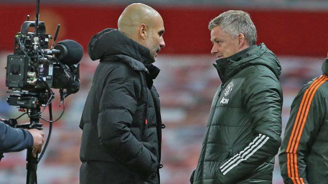 Manchester-United-vs-Manchester-City-Ole-Gunnar-Solskjaer-Pep-Guardiola