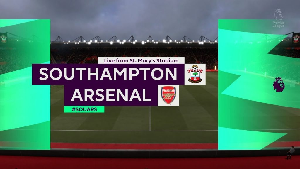 southampton_arsenal_line_up