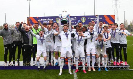 Leeds-Uniteds-under-23s-Premier-League-2-Division-Two-trophy