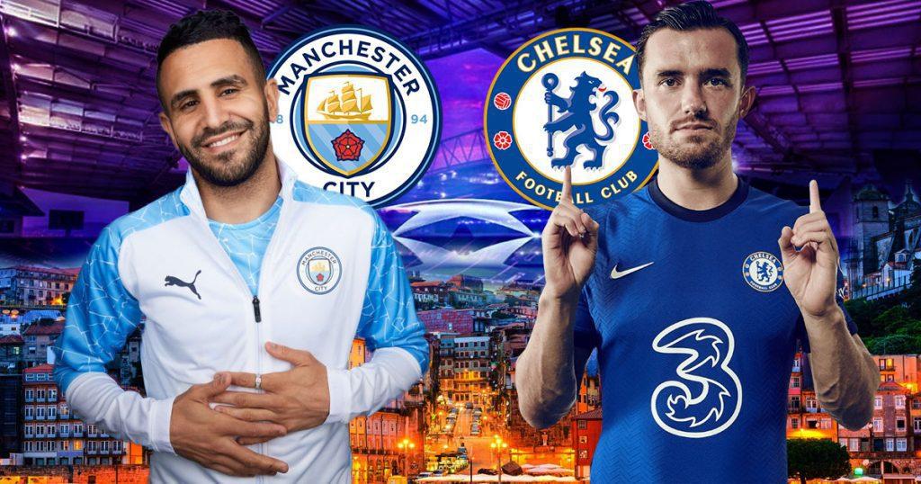 Riyad-Mahrez-vs-Ben-Chilwell-Manchester-City-vs-Chelsea-UEFA-Champions-League-Final-2021
