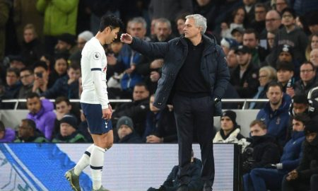 Son-Heung-min-red-card-jose-mourinho