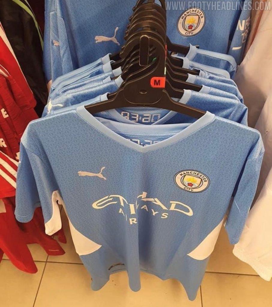Manchester City Home Kit For Season 2021 22 Leaked